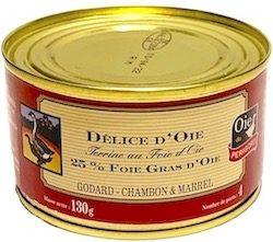 Goose delice terrine