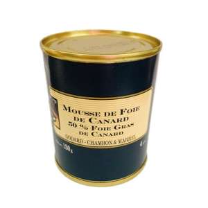 Mousse Canard 50% FG 130g CAN