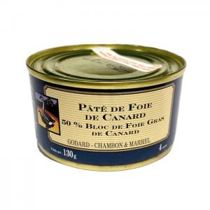 Pate de Canard 50% Foie Gras 130g CAN